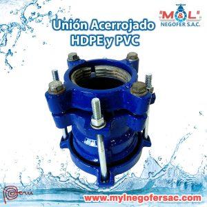 Acople Acerrojado HDPE y PVC
