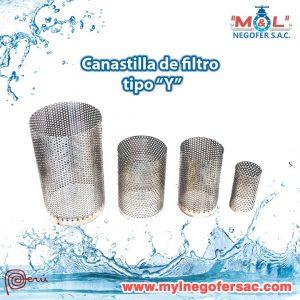 Canastillas y Filtro