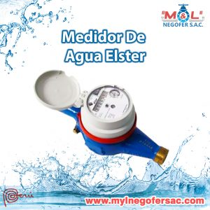 Medidor Agua Elster