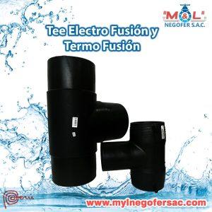 Tee Electro Fusión y Termo Fusión