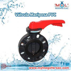 Válvula Mariposa PVC (1)