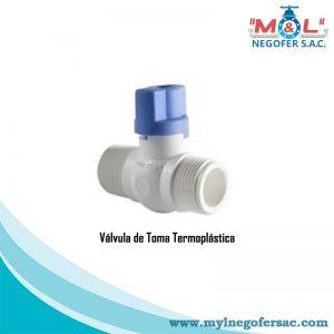 Válvula de Toma Termo plástica