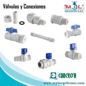 Válvulas y Conexiones Concyssa