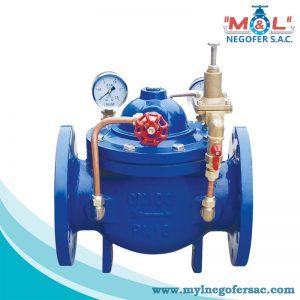 válvula reductora de presión M&L
