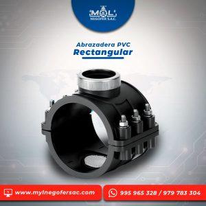 Abrazadera-PVC-Rectangular