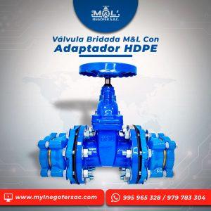 valvula-bridada-M&&L-con-adaptador-hdpe